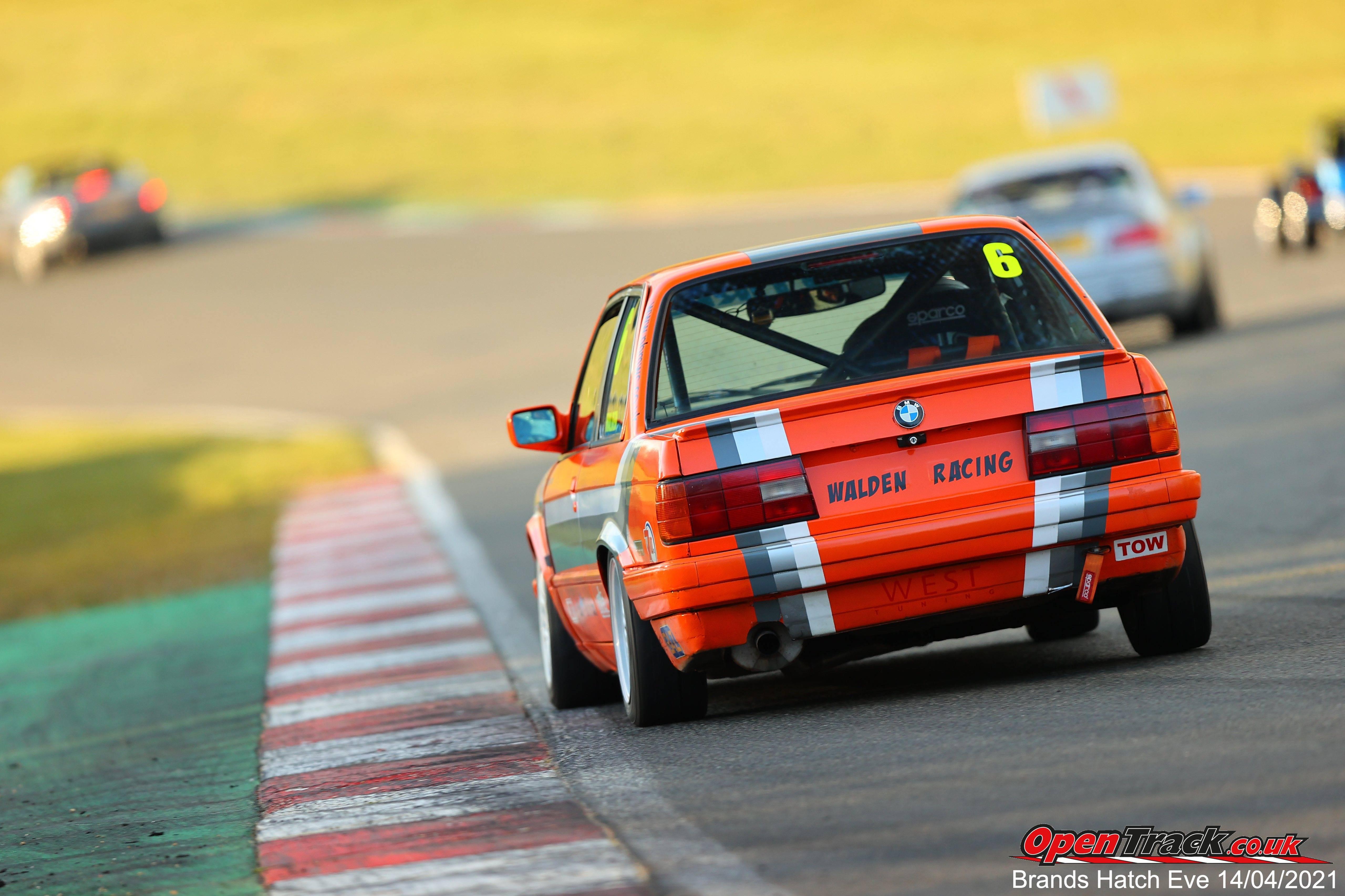 Brands Hatch Test Track Evening  14/04/21.